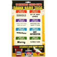 Drink Name Tags
